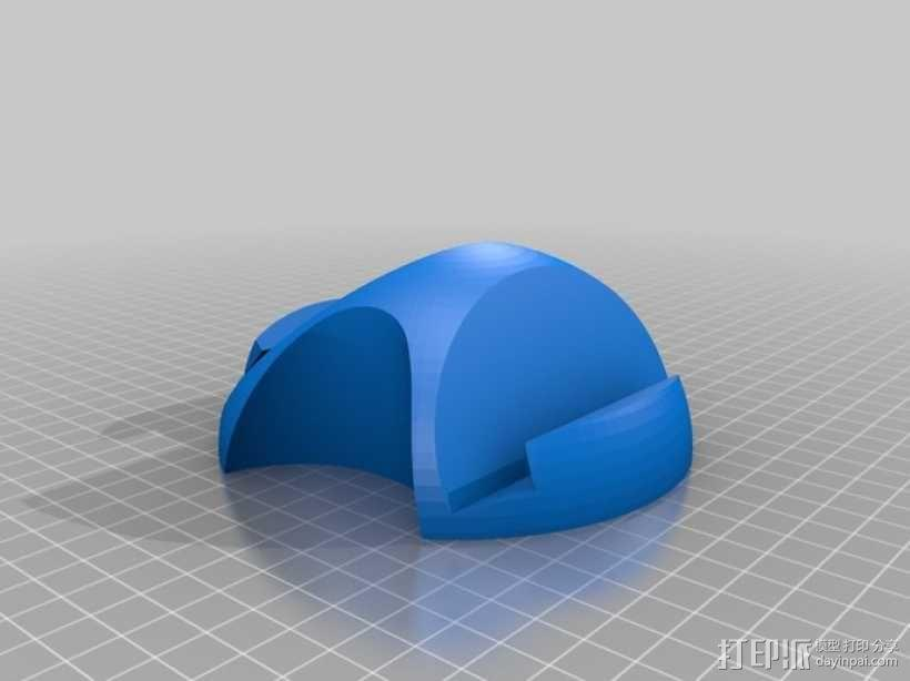 Nexus 10 手机座 3D模型  图2