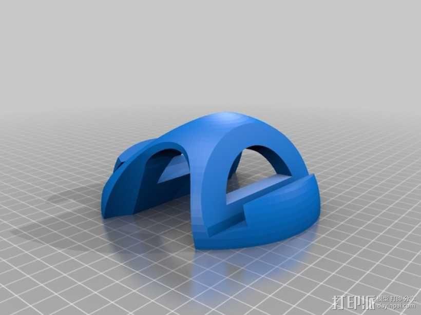 Nexus 10 手机座 3D模型  图3