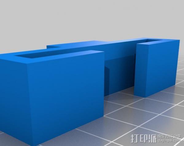 PS3 适配器 3D模型  图2