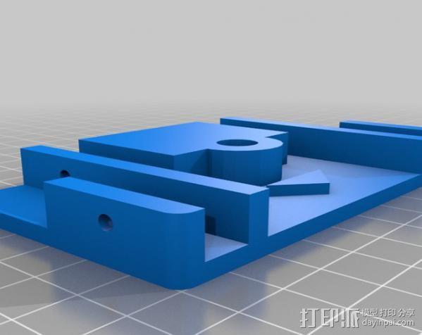 平板夹 3D模型  图3