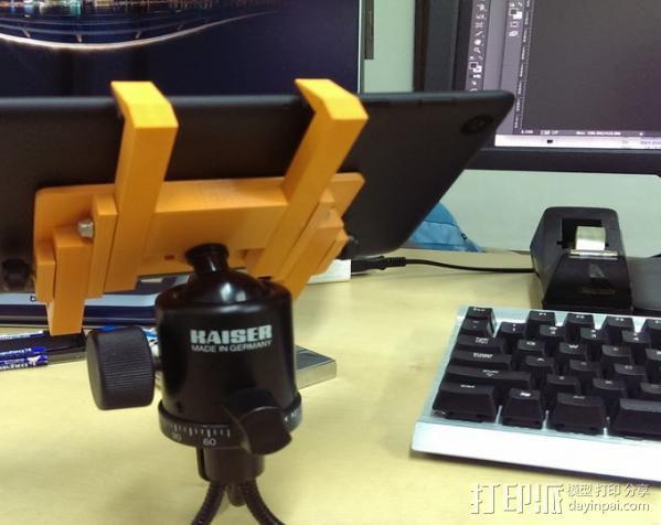平板夹 3D模型  图6