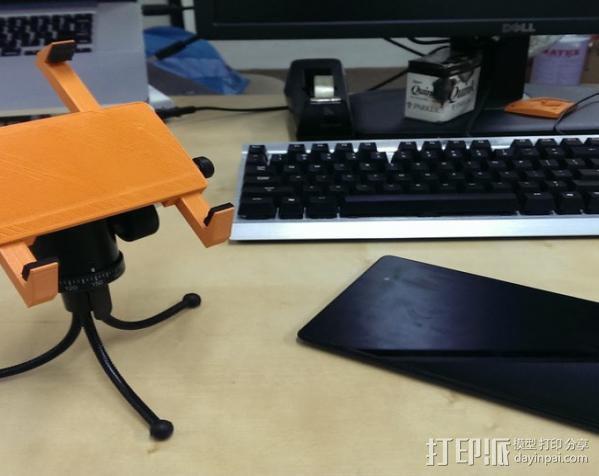平板夹 3D模型  图8