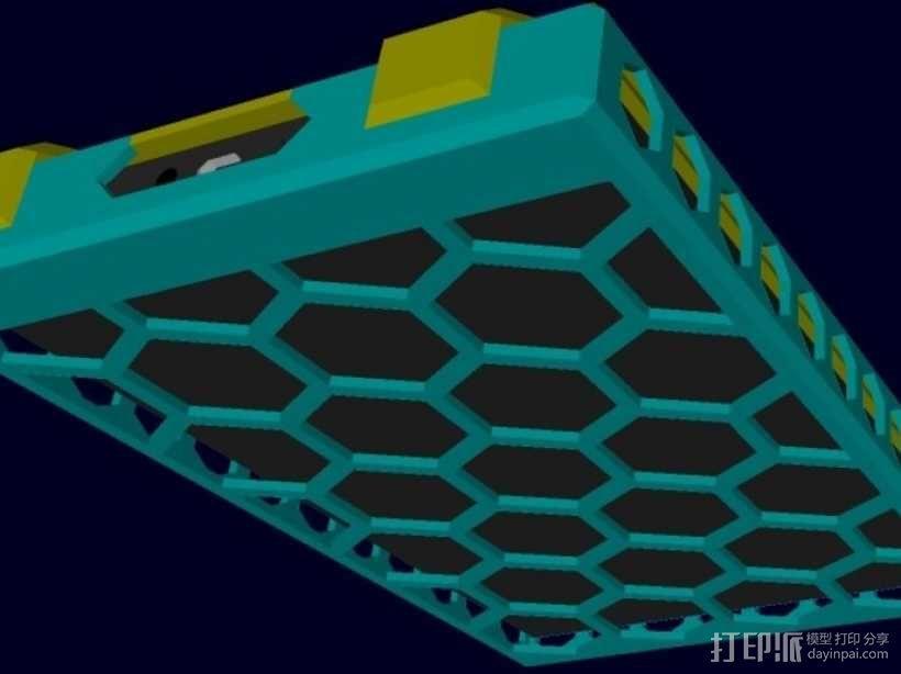 kindle保护壳 3D模型  图1