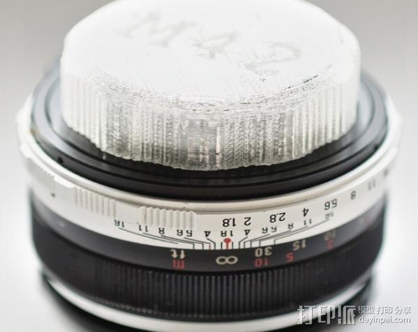M42 镜头盖 3D模型  图4
