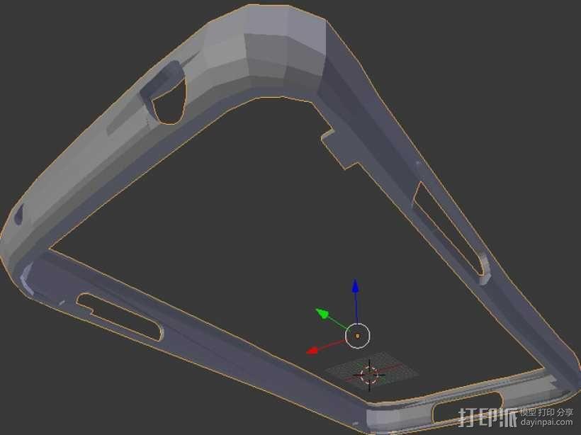 nexus 4手机壳 3D模型  图4
