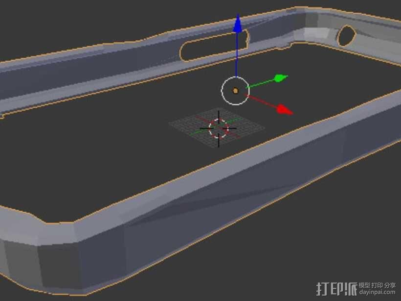 nexus 4手机壳 3D模型  图5