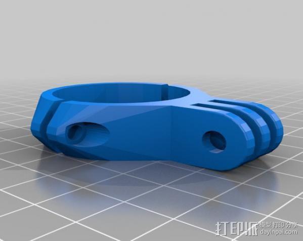 配件夹子 3D模型  图1