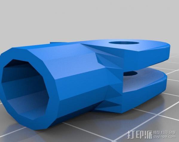 GoPro球形适配器 3D模型  图3
