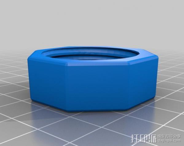GoPro球形适配器 3D模型  图4
