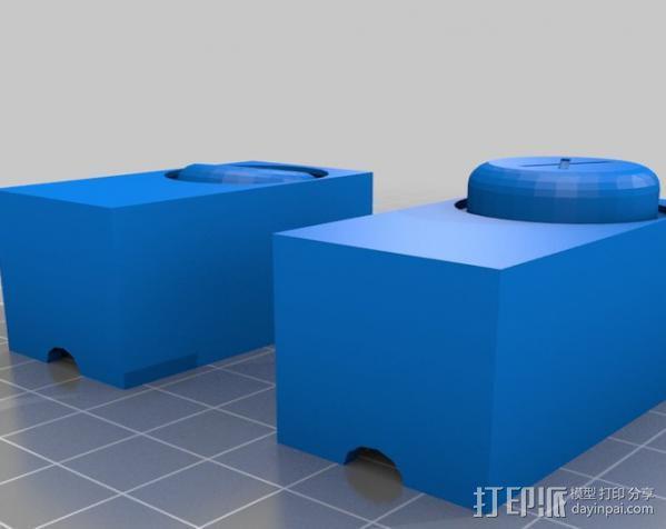 按钮控制器 3D模型  图3