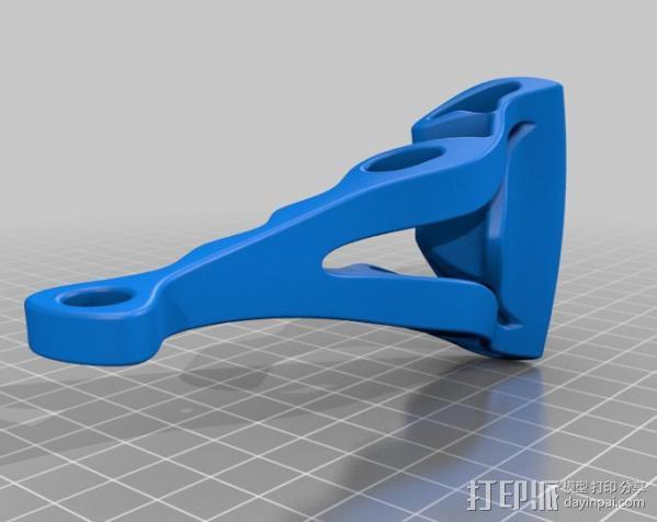 Xperia Z支架 3D模型  图1