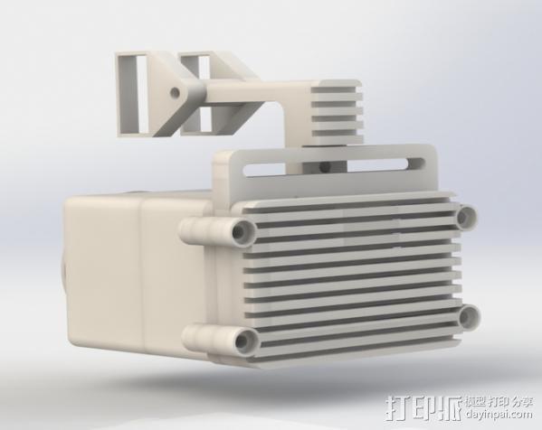 Raspberry Pi 保护壳 3D模型  图9