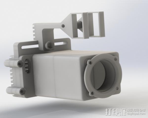 Raspberry Pi 保护壳 3D模型  图10