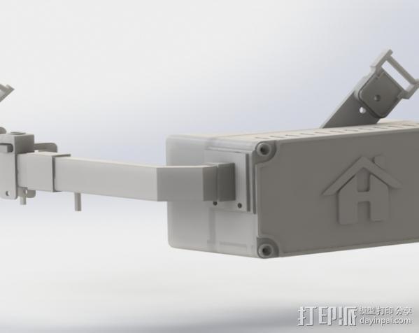 Raspberry Pi 保护壳 3D模型  图12