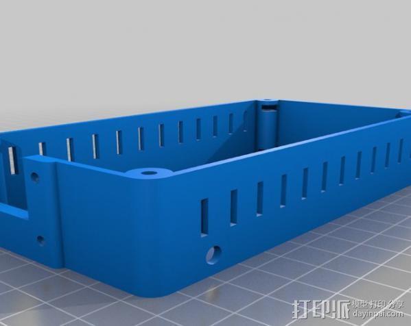 Raspberry Pi 保护壳 3D模型  图14