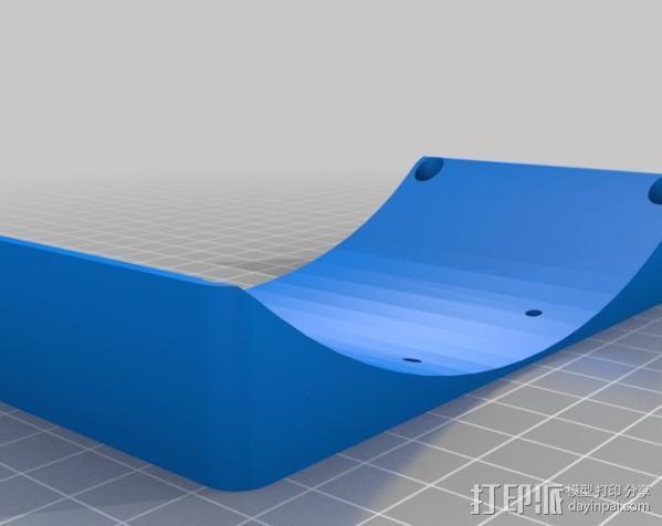 Raspberry Pi 保护壳 3D模型  图16