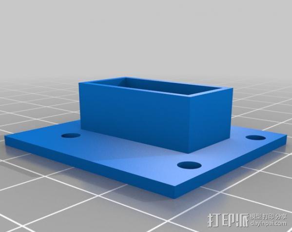 Raspberry Pi 保护壳 3D模型  图23