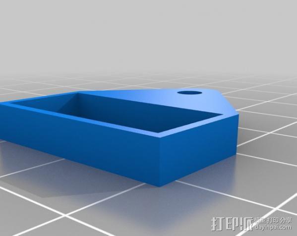 Raspberry Pi 保护壳 3D模型  图31