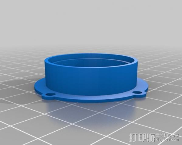 Raspberry Pi 保护壳 3D模型  图33