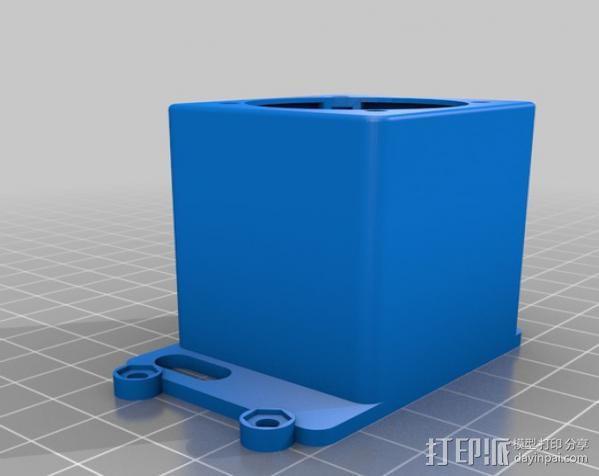 Raspberry Pi 保护壳 3D模型  图32