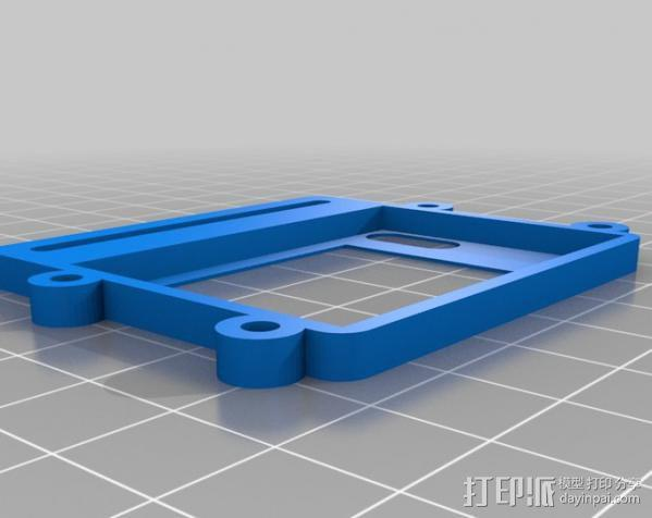 Raspberry Pi 保护壳 3D模型  图36