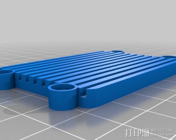 Raspberry Pi 保护壳 3D模型  图35