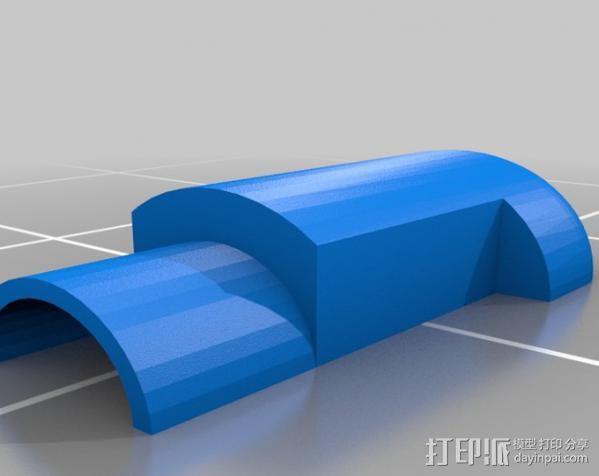 Raspberry Pi 保护壳 3D模型  图38