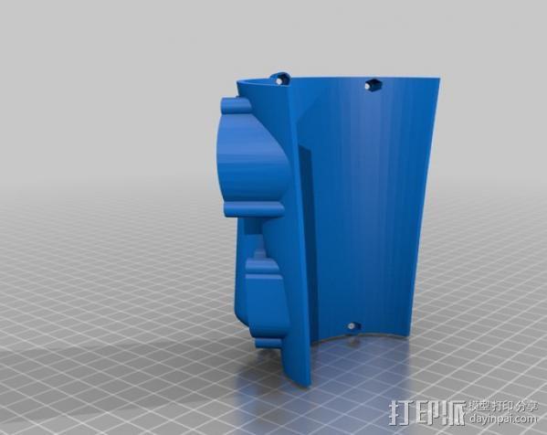 Raspberry Pi 保护壳 3D模型  图37