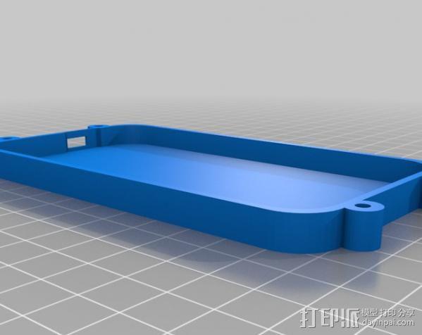 Raspberry Pi 保护壳 3D模型  图40