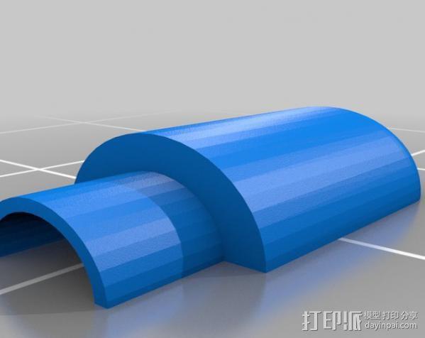 Raspberry Pi 保护壳 3D模型  图42
