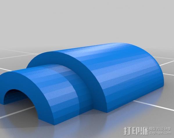 Raspberry Pi 保护壳 3D模型  图44