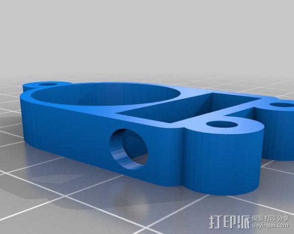 Raspberry Pi 保护壳 3D模型  图45