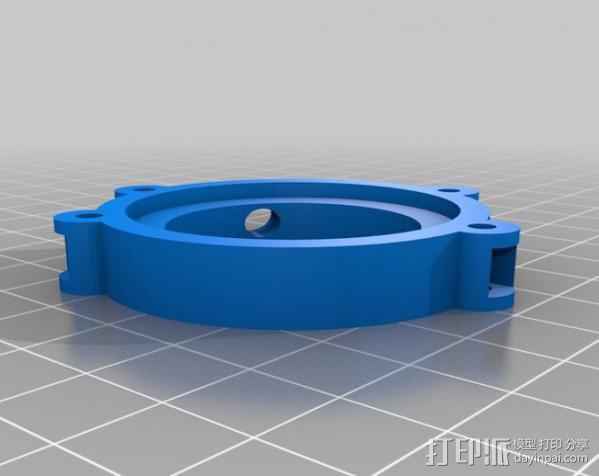 Raspberry Pi 保护壳 3D模型  图46