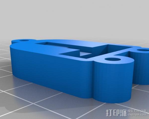 Raspberry Pi 保护壳 3D模型  图49