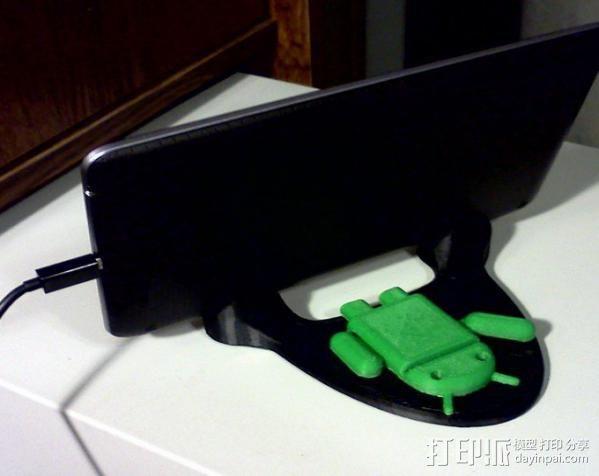 Nexus 7 手机座 3D模型  图1