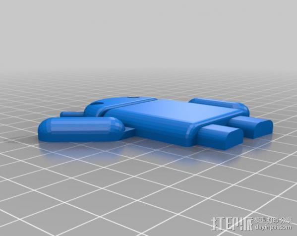 Nexus 7 手机座 3D模型  图3