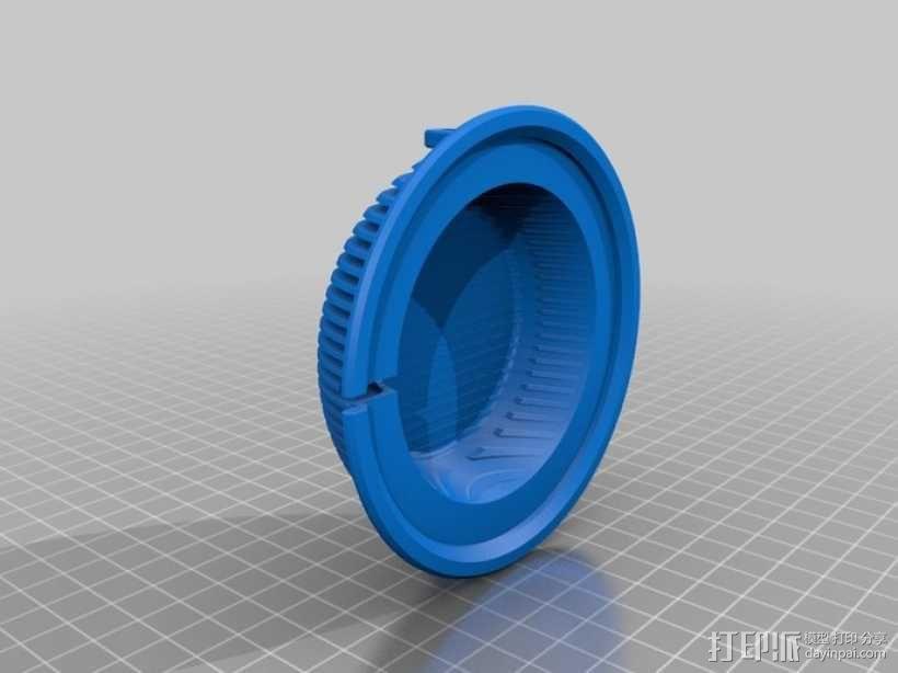 拜耳动态替换耳机罩 3D模型  图3