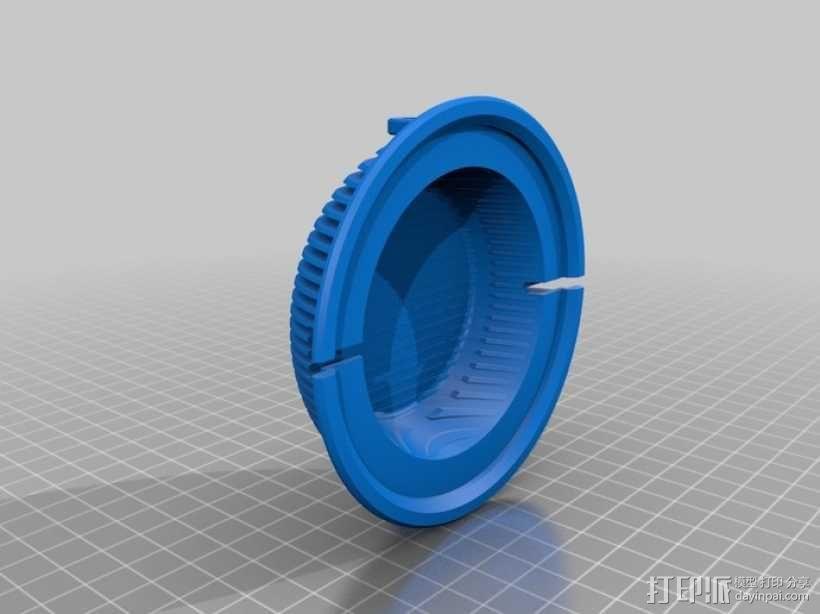 拜耳动态替换耳机罩 3D模型  图4