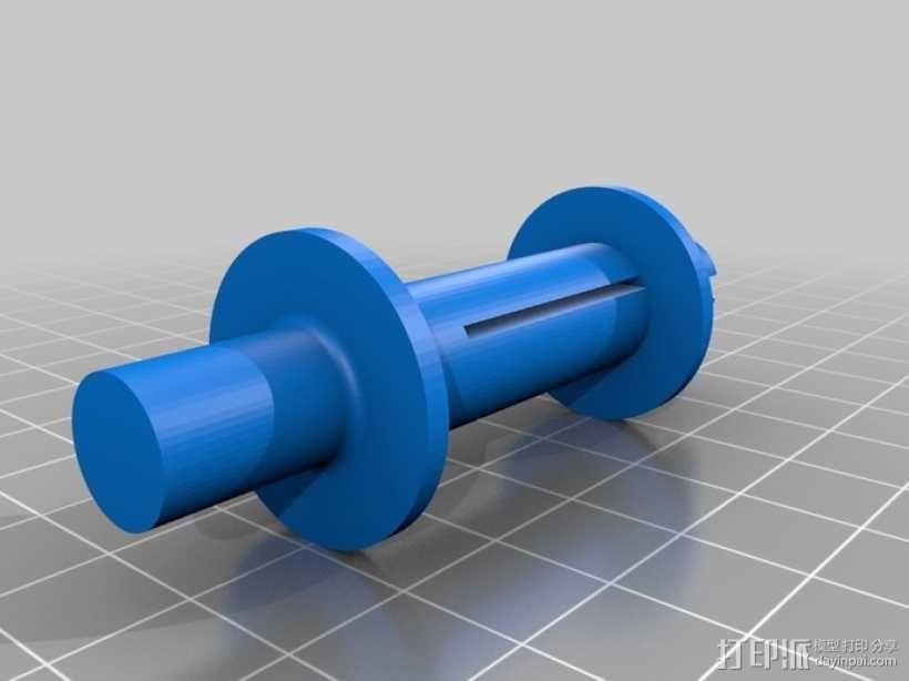 电影适配器 3D模型  图1