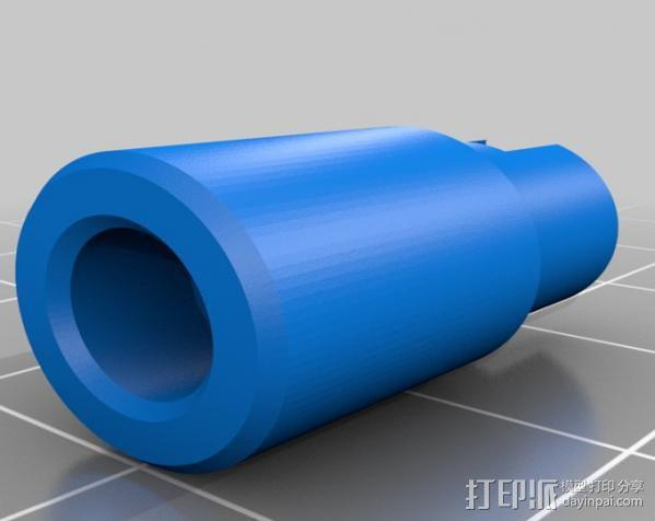 电影适配器 3D模型  图2