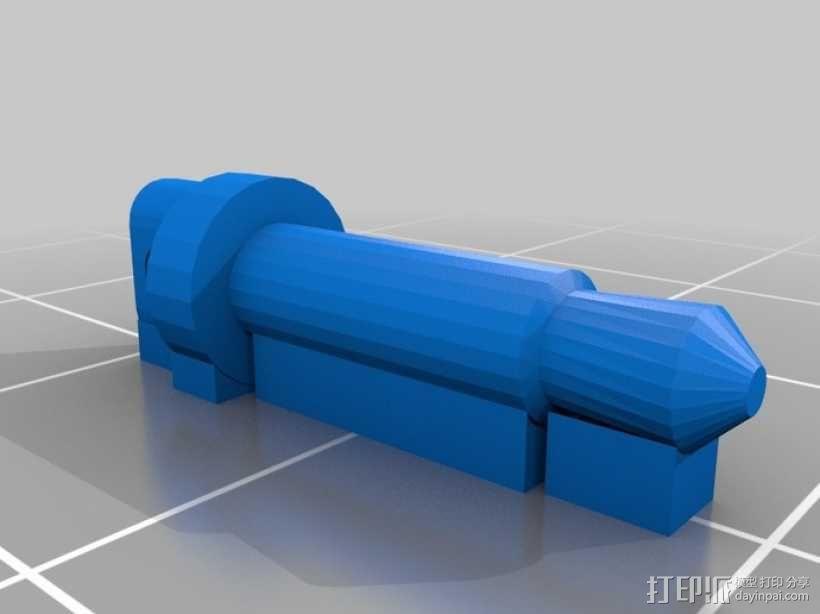 防尘塞 3D模型  图2