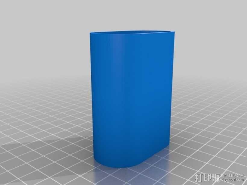 镜头保护盖 3D模型  图2