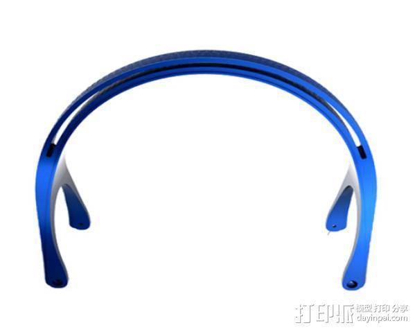 DT-770 替代耳机 3D模型  图2
