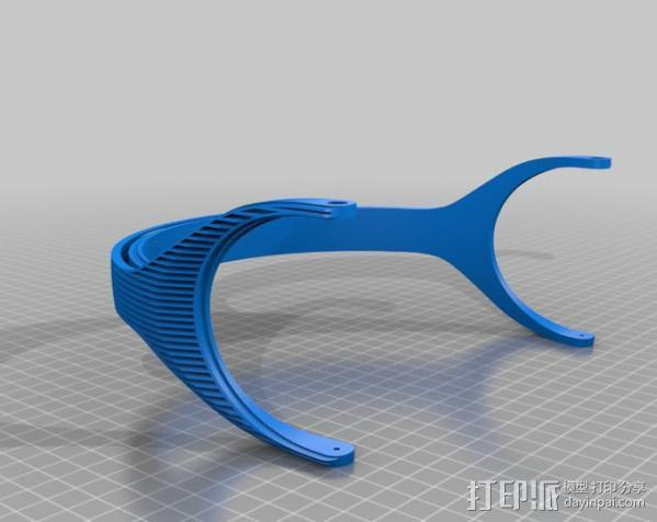 DT-770 替代耳机 3D模型  图3
