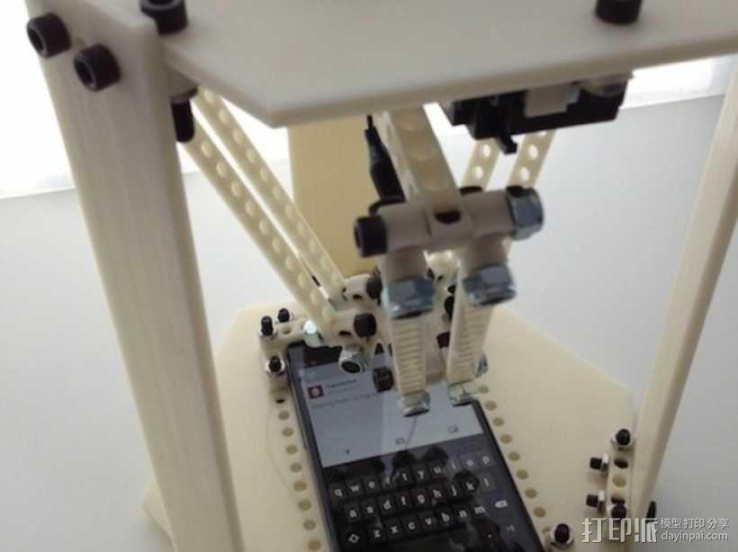 自动化手机机器人 3D模型  图1