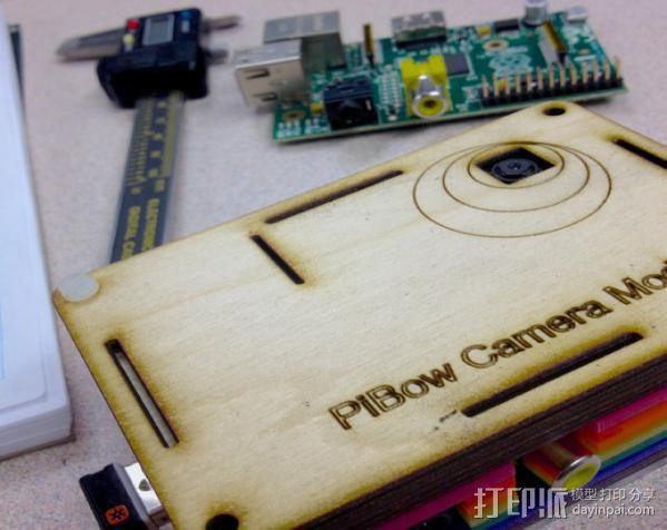 Raspberry Pi 相机模型 3D模型  图2