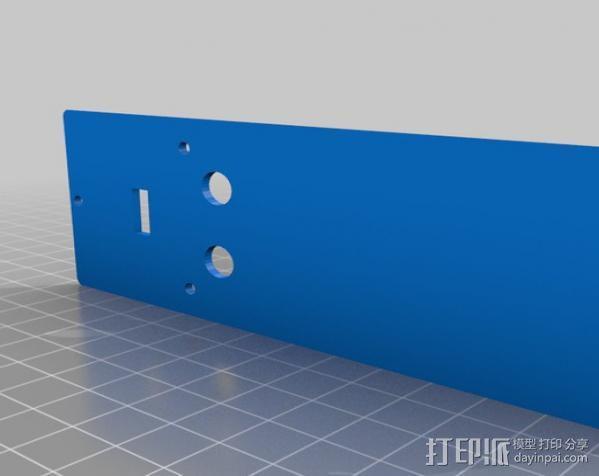 VIA壳子 3D模型  图4