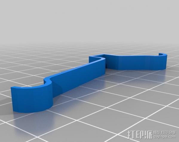 RPi保护壳 3D模型  图2