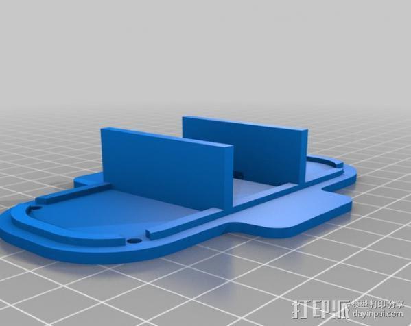 RPi保护壳 3D模型  图3