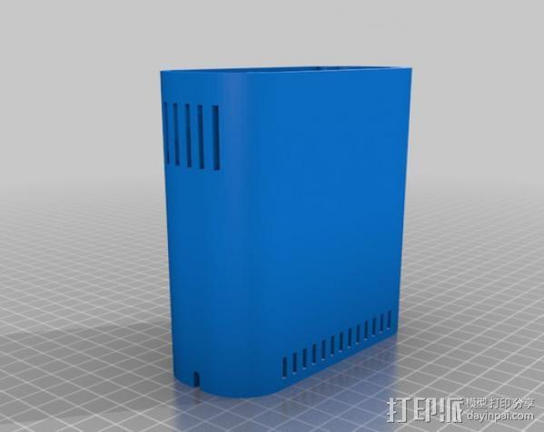 RPi保护壳 3D模型  图5